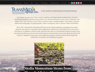 transmediagroup.com screenshot
