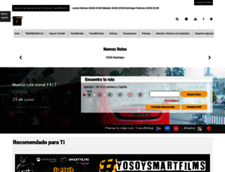 transmilenio.gov.co screenshot