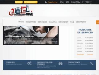 transmisionesjoel.com screenshot