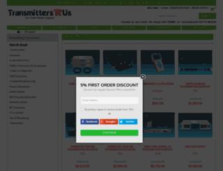 transmittersrus.com screenshot