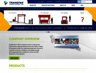 transpakcorp.com screenshot