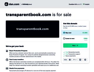 transparentbook.com screenshot