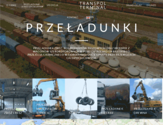 transpol.eu screenshot