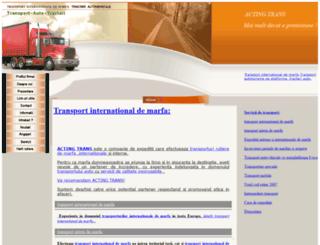 transport-auto-tractari.ro screenshot