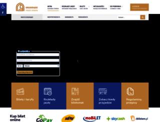 transport.grudziadz.pl screenshot