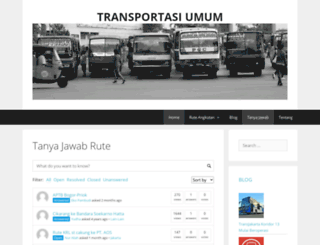 transportasiumum.com screenshot