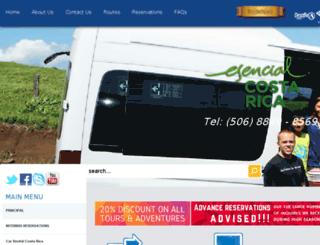 transportation-costarica.com screenshot