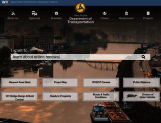 transportation.wv.gov screenshot