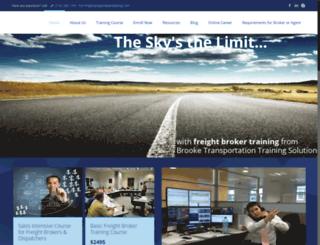 transportationtraining.com screenshot