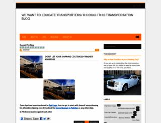 transportationxpozz.blogspot.com screenshot