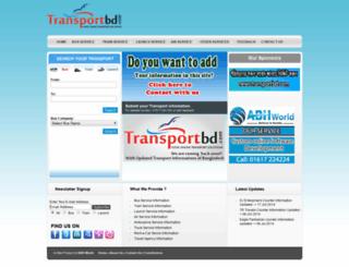 transportbd.com screenshot