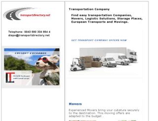 transportdirectory.net screenshot