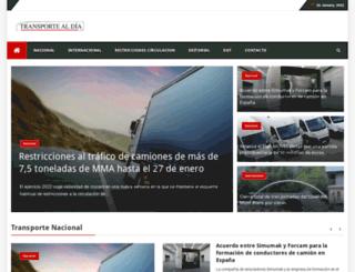 transportealdia.es screenshot