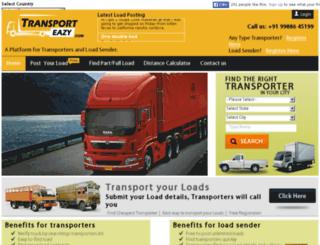 transporteazy.com screenshot