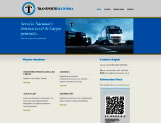 transportematorra.com.ar screenshot
