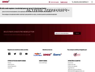 transportesdelnorte.com.mx screenshot