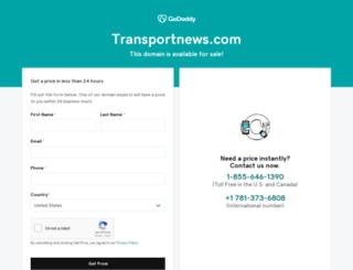 transportnews.com screenshot