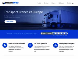transportroutier.fr screenshot
