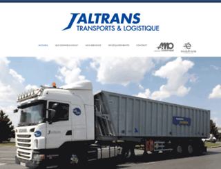 transports-jaltrans.fr screenshot