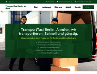 transporttaxiberlin.de screenshot