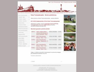 transsib.com.pl screenshot