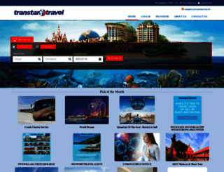 transtar.travel screenshot