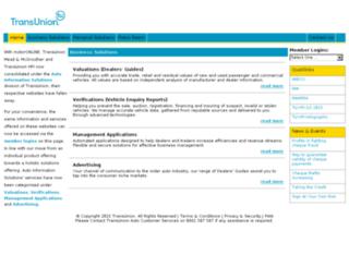 transunionauto.co.za screenshot