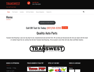 transwestauto.com screenshot
