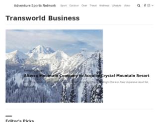 transworldbusiness.com screenshot