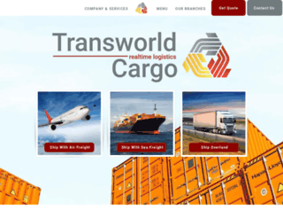 transworldcargo.net screenshot