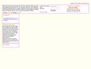 tranthanhnam.blogtiengviet.net screenshot