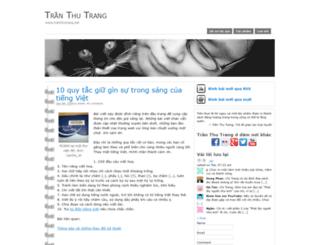 tranthutrang.net screenshot