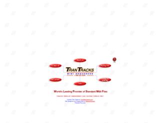 trantracks.com screenshot