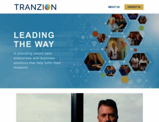 tranzion.com screenshot