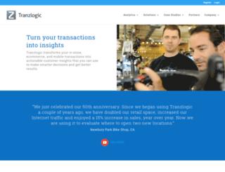 tranzlogic.com screenshot