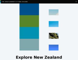 tranzscenic.co.nz screenshot