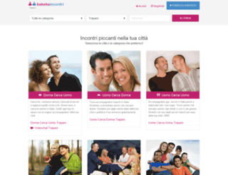 trapani.bakecaincontrii.com screenshot