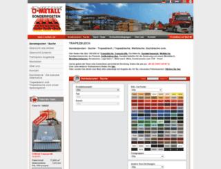 trapezblech-preis.de screenshot