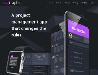 traphic.com screenshot