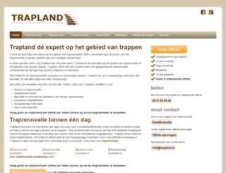 trapland.nl screenshot