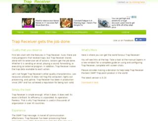 trapreceiver.com screenshot