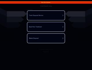 trashback.org screenshot