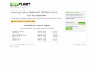 trashbags.net.au screenshot