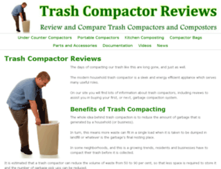 trashcompactorreviews.com screenshot
