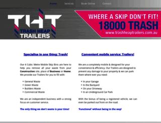 trashheaptrailers.com.au screenshot
