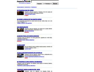 traspasos.anuncioneon.com screenshot