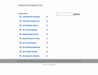 tratamientocapilar.info screenshot