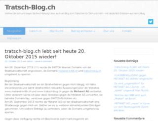 tratsch-blog.ch screenshot