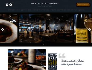 trattoriatimone.ca screenshot