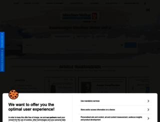 trauer.merkur-online.de screenshot